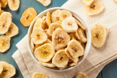 Banana deshidratada