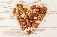 Corazón de frutos secos